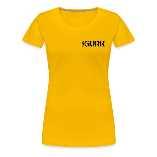 VAN GURK Logo WEISS - Frauen Premium T-Shirt