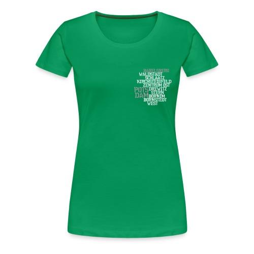 Babelsberg - Frauen Premium T-Shirt