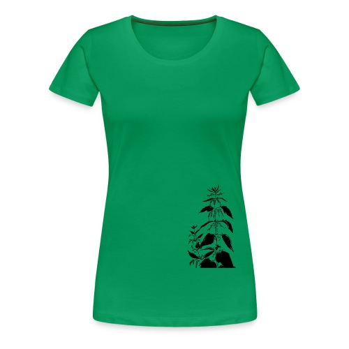 Brennnessel, urtica dioica - Frauen Premium T-Shirt