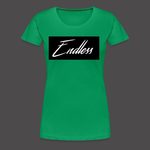 Endless Black - Frauen Premium T-Shirt