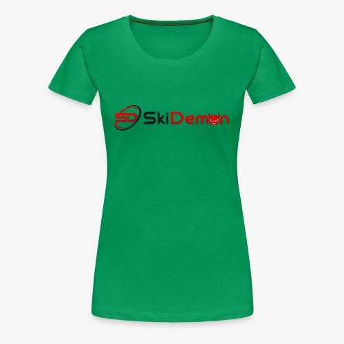 The Ski Demon - Women's Premium T-Shirt