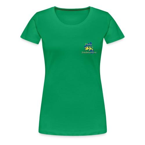 Logo MAS Badminton - T-shirt Premium Femme