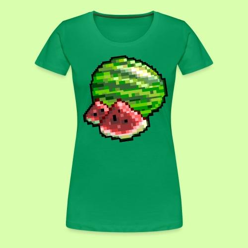 Niss3 Melon - Premium-T-shirt dam