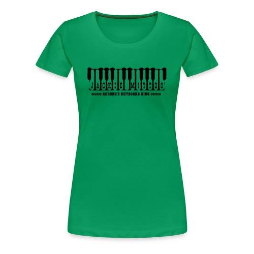 Jackie Mittoo | Reggae's keyboard king - Camiseta premium mujer