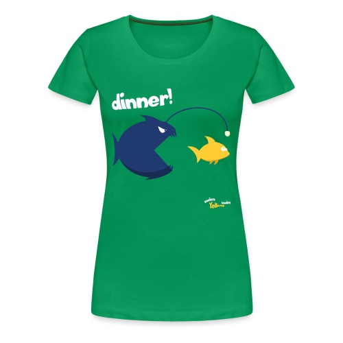 Dinner - Vrouwen Premium T-shirt