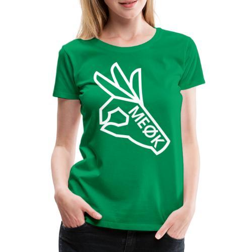 MEØK HAND - Frauen Premium T-Shirt