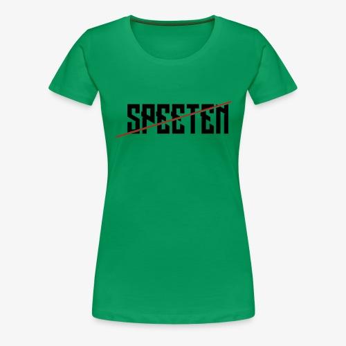 Speeten EPIC text 420 epic! - Premium T-skjorte for kvinner