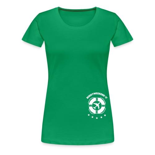 Buddyshirt '17 - Frauen Premium T-Shirt