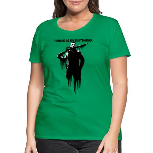 Sniper Elite - Timing is Everything - Women's Premium T-Shirt
