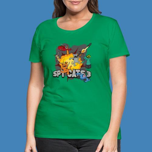 Spy Cats 3 - Vrouwen Premium T-shirt