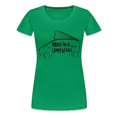 Marco Polo Camper Fans - Frauen Premium T-Shirt
