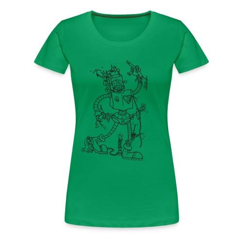 robotpunk - Women's Premium T-Shirt