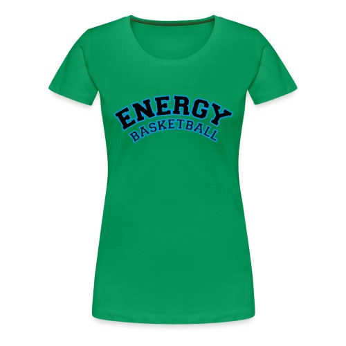 street wear logo nero energy basketball - Maglietta Premium da donna