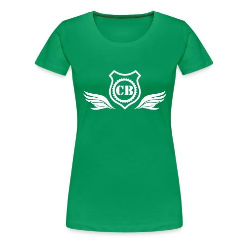 blasonCB - T-shirt Premium Femme