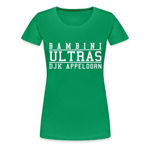Bambini Ultras - Frauen Premium T-Shirt