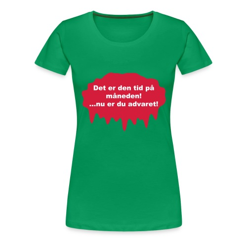 Advaret - Dame premium T-shirt