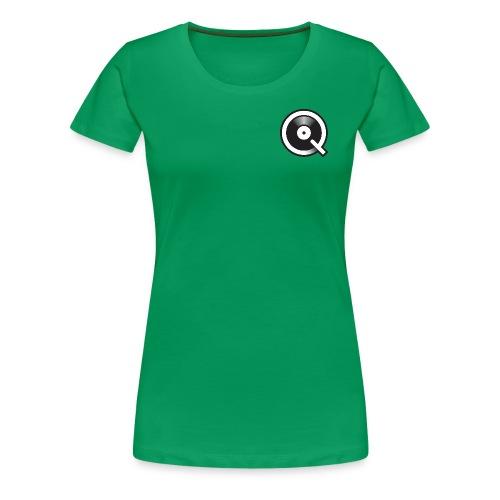 Qobuz Logo - T-shirt Premium Femme