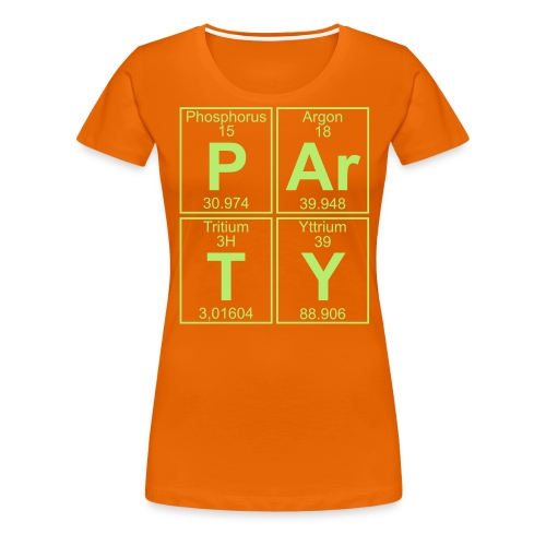 P-Ar-T-Y (party) - Women's Premium T-Shirt