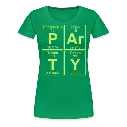 P-Ar-T-Y (party) - Women's Premium T-Shirt