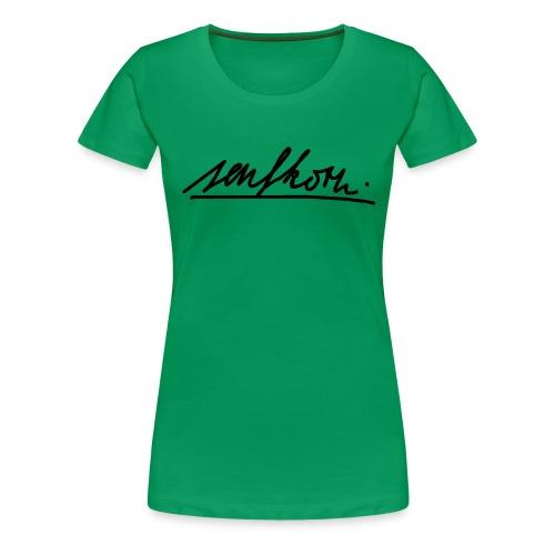 #senfi - Frauen Premium T-Shirt