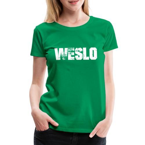 Weslo - Koszulka damska Premium