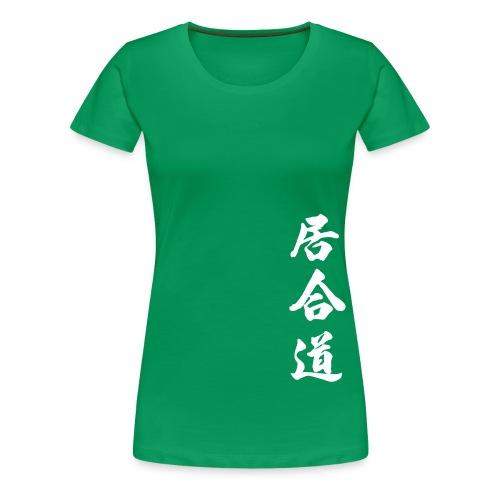 iaidokanji - Premium-T-shirt dam