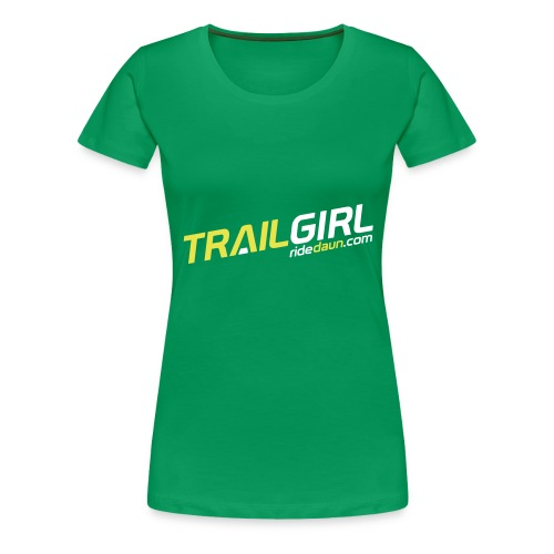 Trailgirl - Frauen Premium T-Shirt