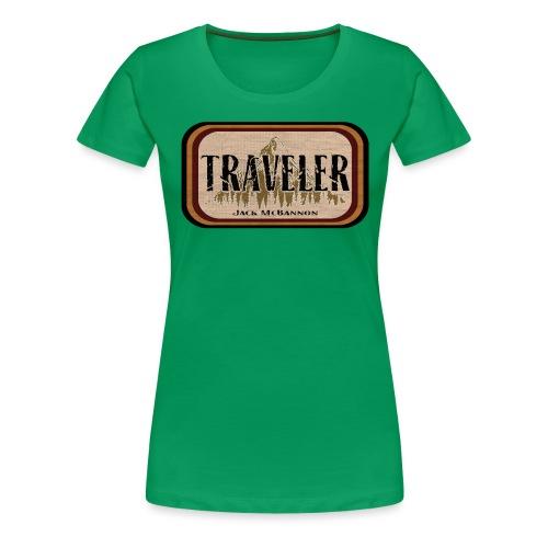 Jack McBannon -Traveler - Frauen Premium T-Shirt
