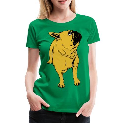 Ruskesnusk - Premium T-skjorte for kvinner