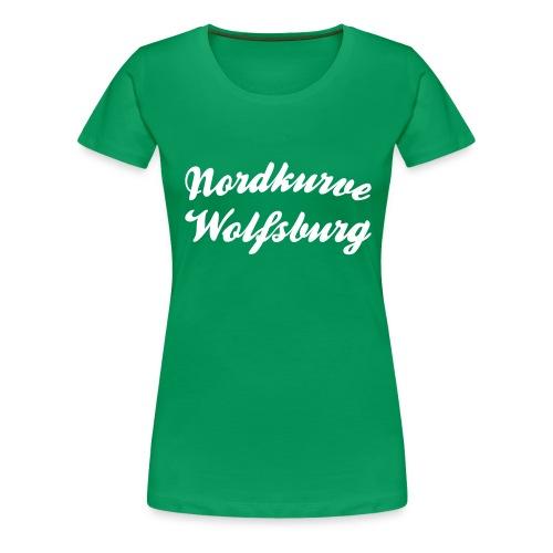 Nordkurve Wolfsburg - Frauen Premium T-Shirt