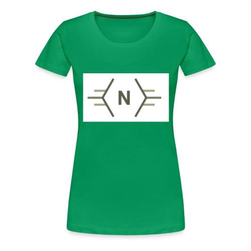 N exclusive logo - Vrouwen Premium T-shirt
