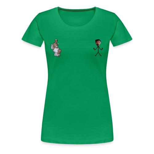 waterbobo png - Maglietta Premium da donna