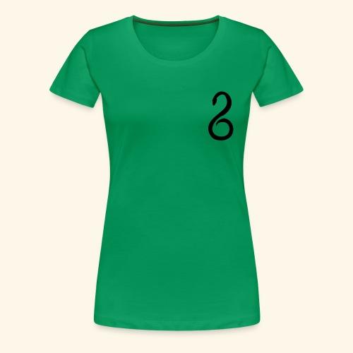 Slytherin Crest Logo - Women's Premium T-Shirt