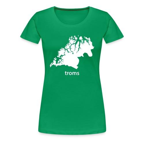 troms - Premium T-skjorte for kvinner
