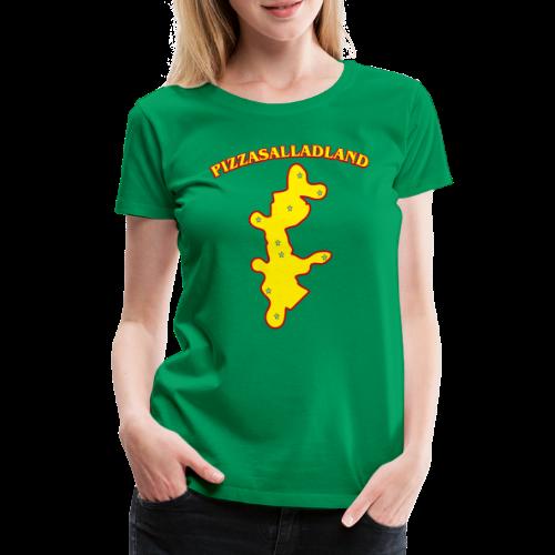 T-shirt, Pizzasalladland - Premium-T-shirt dam