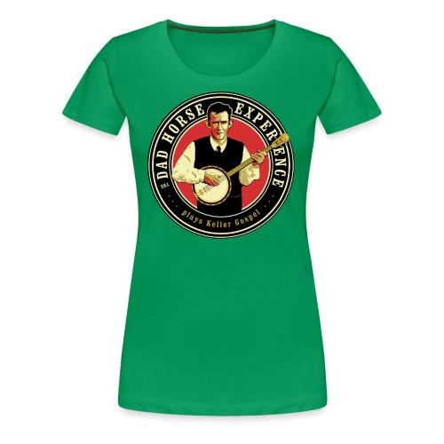 Dad Horse Kellergospel round - Women's Premium T-Shirt
