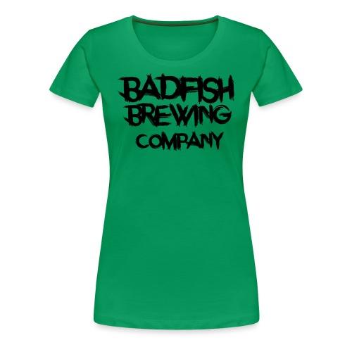 BadFish + Logo - T-shirt Premium Femme