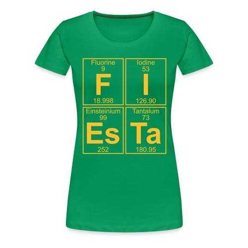 F-I-Es-Ta (fiesta) - Full - Women's Premium T-Shirt
