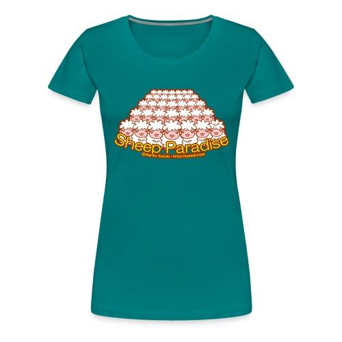 Sheep Paradise - Women's Premium T-Shirt