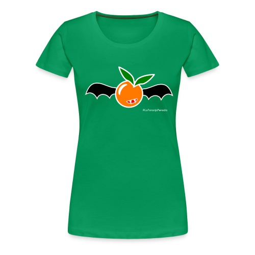 La taronja penada - Camiseta premium mujer