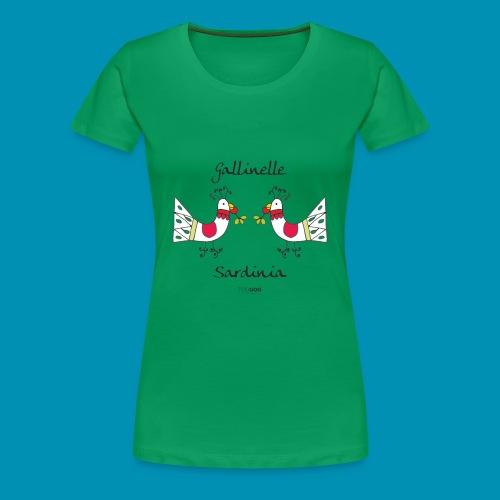 Gallinelle - Maglietta Premium da donna
