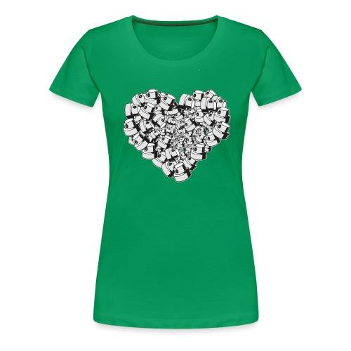 Street Love - Dame premium T-shirt
