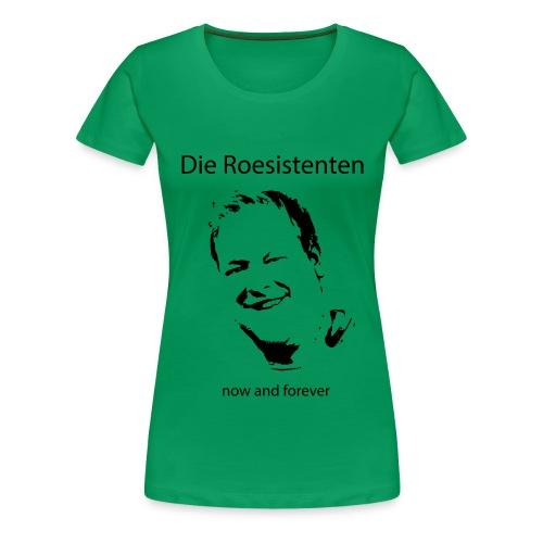 Roesistenten Official - Frauen Premium T-Shirt