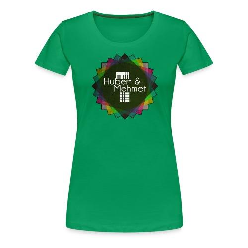 Circle Logo gif - Frauen Premium T-Shirt