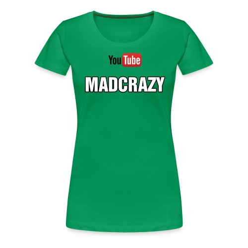 madcrazy yt - Maglietta Premium da donna