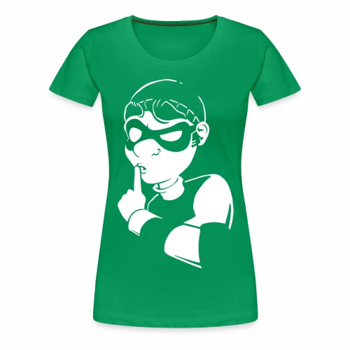 Bob Sssh - Women's Premium T-Shirt