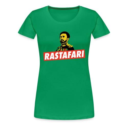 Rastafari - Haile Selassie - HIM - Jah Rastafara - Frauen Premium T-Shirt