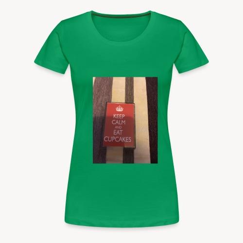 Keep calm and eat cupcakes - Women's Premium T-Shirt