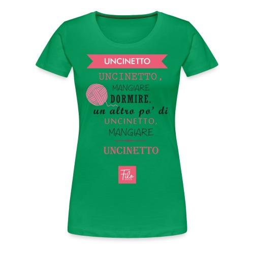 Uncinetto quotidiano - Maglietta Premium da donna