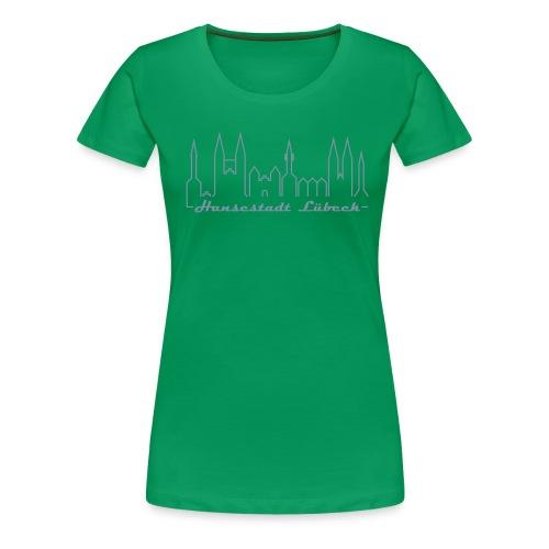 luebeck hansestadt - Frauen Premium T-Shirt